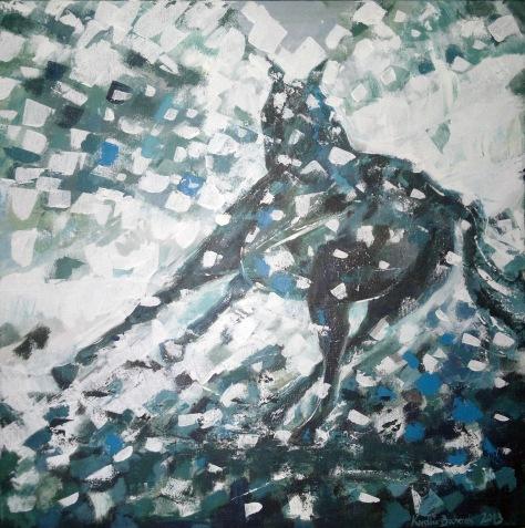 25_Winter horse